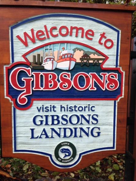 Welcome to Gibsons Landing